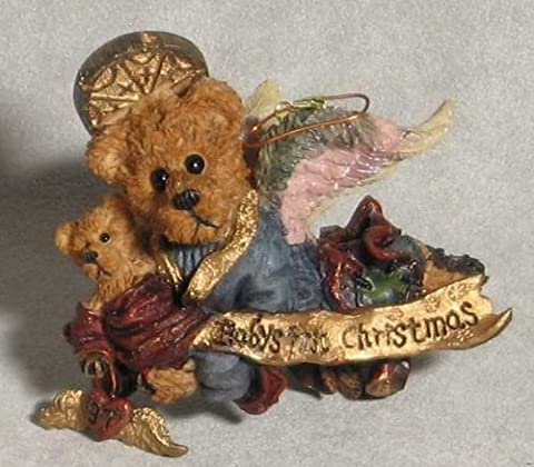 Boyds Bears Matthew with Kip-baby's 1st Christmas Retired 2508 - Boyds Bears Christmas
