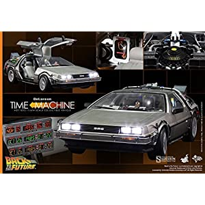 51f5aWsx8QL. SS300  - Hot Toys Back to the Future Part 1 DeLorean Time Machine 1/6 Scale Vehicle by Hot Toys