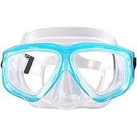 WINBST Duikbril voor kinderen, anti-condens, zonder lekkage, duidelijk zicht, uv-bescherming, 180 graden zicht…