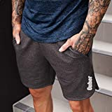 Ouber Men's Bodybuilding Lifting Gym Workout Sweat