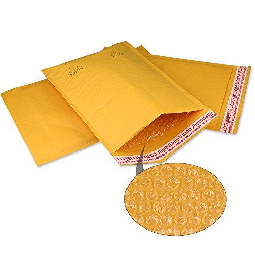 Yens #2 Kraft Bubble Mailer Padded Envelopes, 200 Count