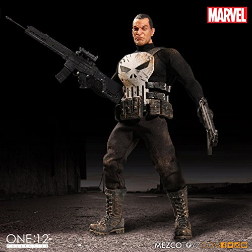 [Mezco Toyz One:12 Collective The Punisher 6.5