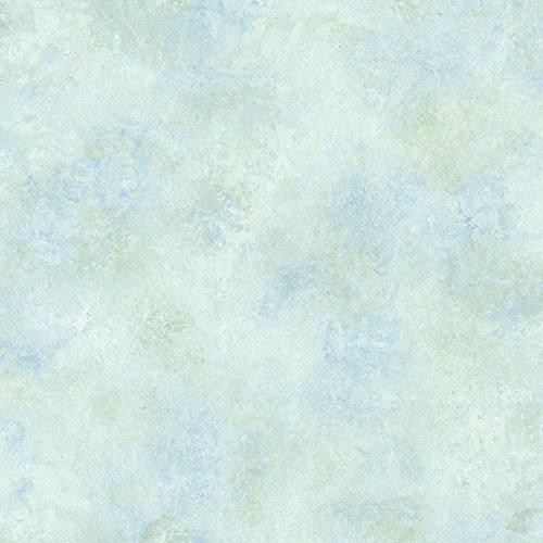 Blue Scroll Wallpaper - Chesapeake CHR257038 Whisper Sky Blue Scroll Texture Wallpaper