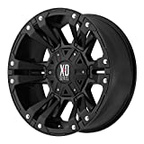 XD Series by KMC Wheels XD822 Monster 2 Matte Black Wheel (18x10/8x180mm, 24mm offset)