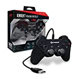 Hyperkin ''Knight'' Premium Controller for PS3/ PC/ Mac (Black)