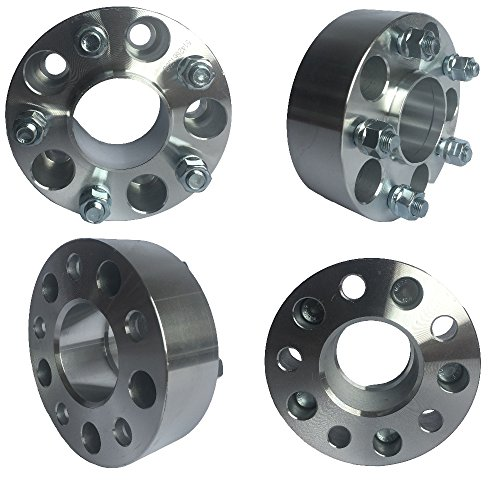 5x4.5 (5x114.3) Hubcentric Wheel Spacers (1.5 inch) 38.1mm (70.5mm bore, 1/2