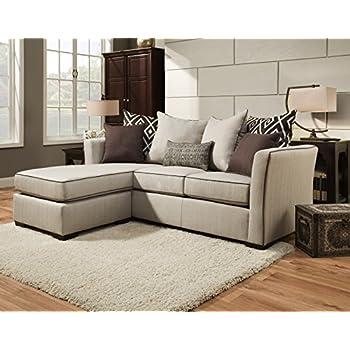 Amazon Simmons Upholstery 4202 04Q Linen Stewart Sleeper Sofa