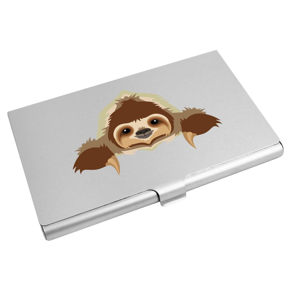 Azeeda 'Resting Sloth' Business Card Holder / Credit Card Wallet (CH00016302)