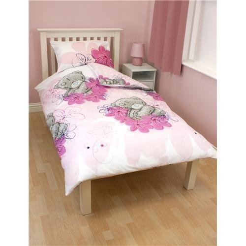 Childrens/Kids Girls Me To You Tatty Teddy Reversible Quilt/Duvet Bedding Set (Single Bed) (Pink) UKASNHKTN11493