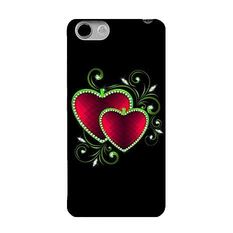 Fasheen Designer Soft Case Mobile Back Cover for Panasonic P55 Novo, Print No. SPR_435 Cases   Covers