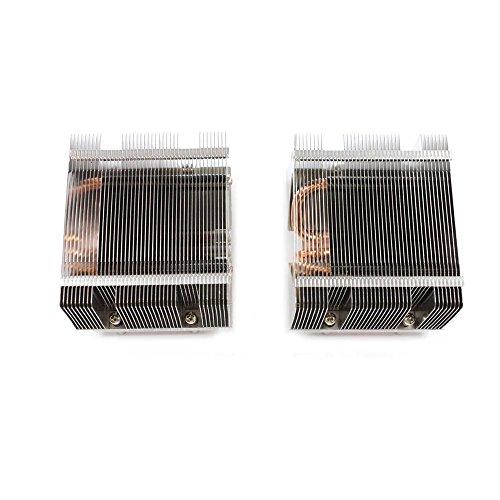 - LOT OF 2 SUPERMICRO SNK-P0025P Passive Heatsink for Intel Xeon 5000 series LGA771