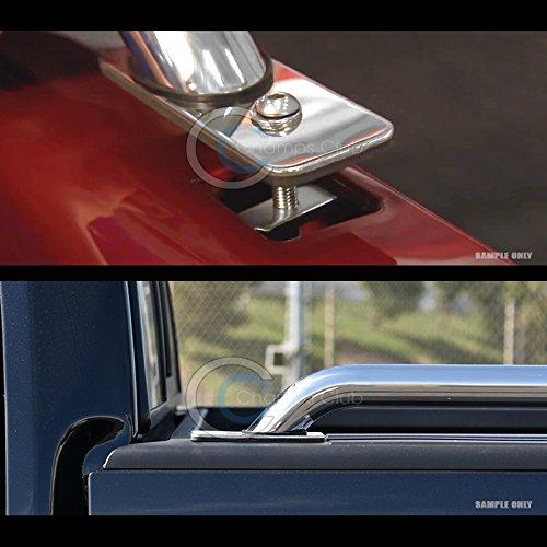 HS Power Stainless Steel Chrome Truck Side Bar Rails 04-14 Ford F150//Mark Lt 6.5 Ft Bed