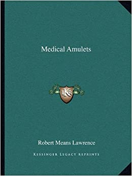 Book Medical Amulets