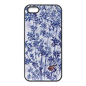 wugdiy DIY Protective Snap-on Hard Back Case Cover for iPhone 5,5S with Chinese ceramics