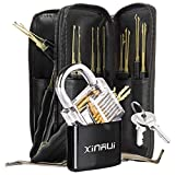 Xinrui Strong Pick and Hook Set,24-Piece(Lock Included)