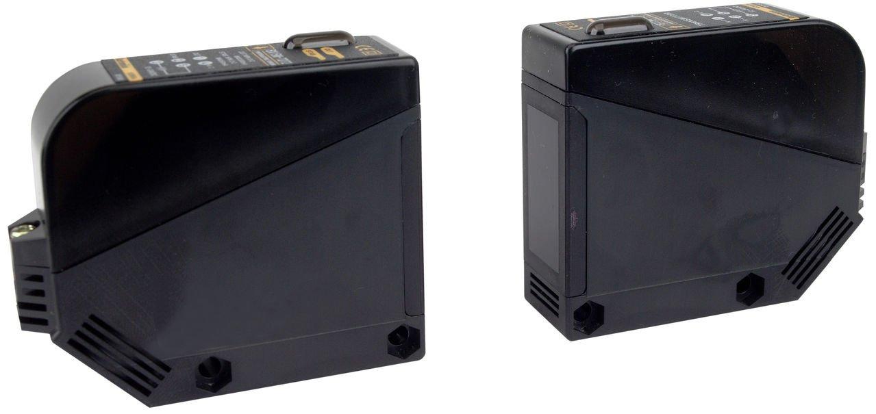 AUTONICS BX15M-TFR Sensor, Photo, Through Beam, Light & Dark On, Relay Output, 24-240 VAC & VDC