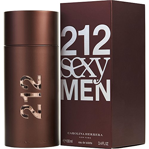 212 SEXY by Carolina Herrera EDT SPRAY 3.4 OZ for MEN ---(Package Of 2)