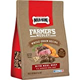 Milk-Bone Farmer's Medley Whole Grain Recipe with Beef Biscuits, 12 oz Review