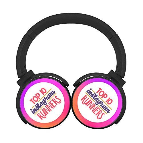 - Hidui Hifi Black Bluetooth Top Runners Personal Stereo Headphone For Pc/Tv/Phones