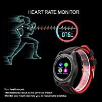 Amazon.com: NO.1 G6 - Bluetooth Smart Watch Heart Rate ...