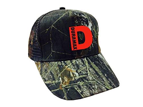 Duramax Red Logo Trucker Mesh Cap