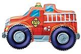 """Fire Trucks Jumbo 33"""" Foil Balloon"""