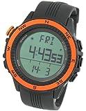 [LAD WEATHER] German Sensor Altimeter Barometer Chronograph Digital Compass Timer Lap Time Alarm Multifunction Outdoor Sport (Climbing/ Hiking/ Running/ Walking/ Camping)