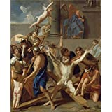 Canvas Prints Of Oil Painting 'The Martyrdom Of St. Andrew,1647 By Charles Le Brun' 20 x 25 inch / 51 x 63 cm , High Quality Polyster Canvas Is For Gifts And Bath Room, Bed Room And Nursery Decoration