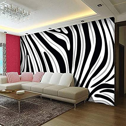 3D Stickers Decorations Wallpaper Wall Murals Black and ...