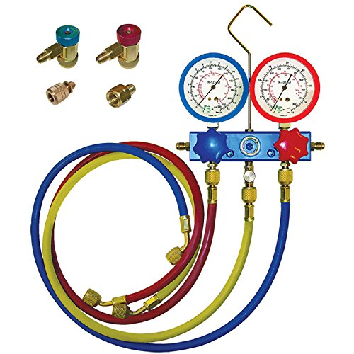 PartsChannel EQU010001 A/C System Pressure Gauge, 1 Pack by PartsChannel