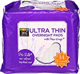 365 Everyday Value, Ultra Thin Overnight Pads, 14 Count