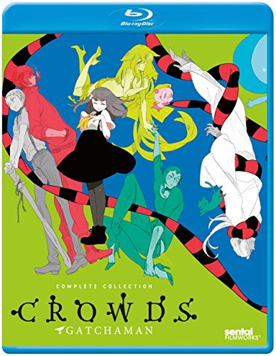 Gatchaman Crowds: Complete Collection [Blu-ray]