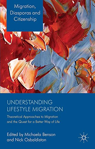 Understanding Lifestyle Migration: Theoretical Approaches to Migration and the Quest for a Better Way of Life (Migration, Diasporas and Citizenship) (Understanding The Anthropology Of Immigration And Migration)