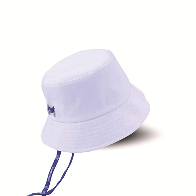 d81ab9efd6b Bucket Hats Men Women Casual Summer Sun Hat Foldable Flat Caps Punk Fisherman  Hats New White