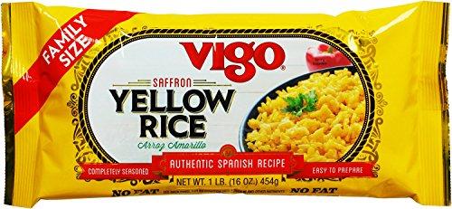 Rice Chicken Saffron (Vigo Saffron Yellow Rice, 16 Ounce (Pack of 12))