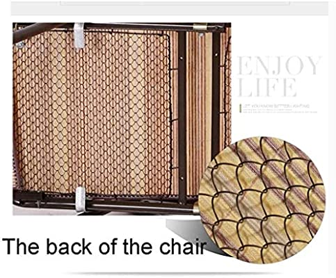 ADHW Reclinable, reclinable Silla al Aire Libre, Tumbona, for Servicio Pesado Gente, Fundas de Cojines sillón, sillón Individual Acolchado, Tumbona (Color : Red): Amazon.es: Hogar