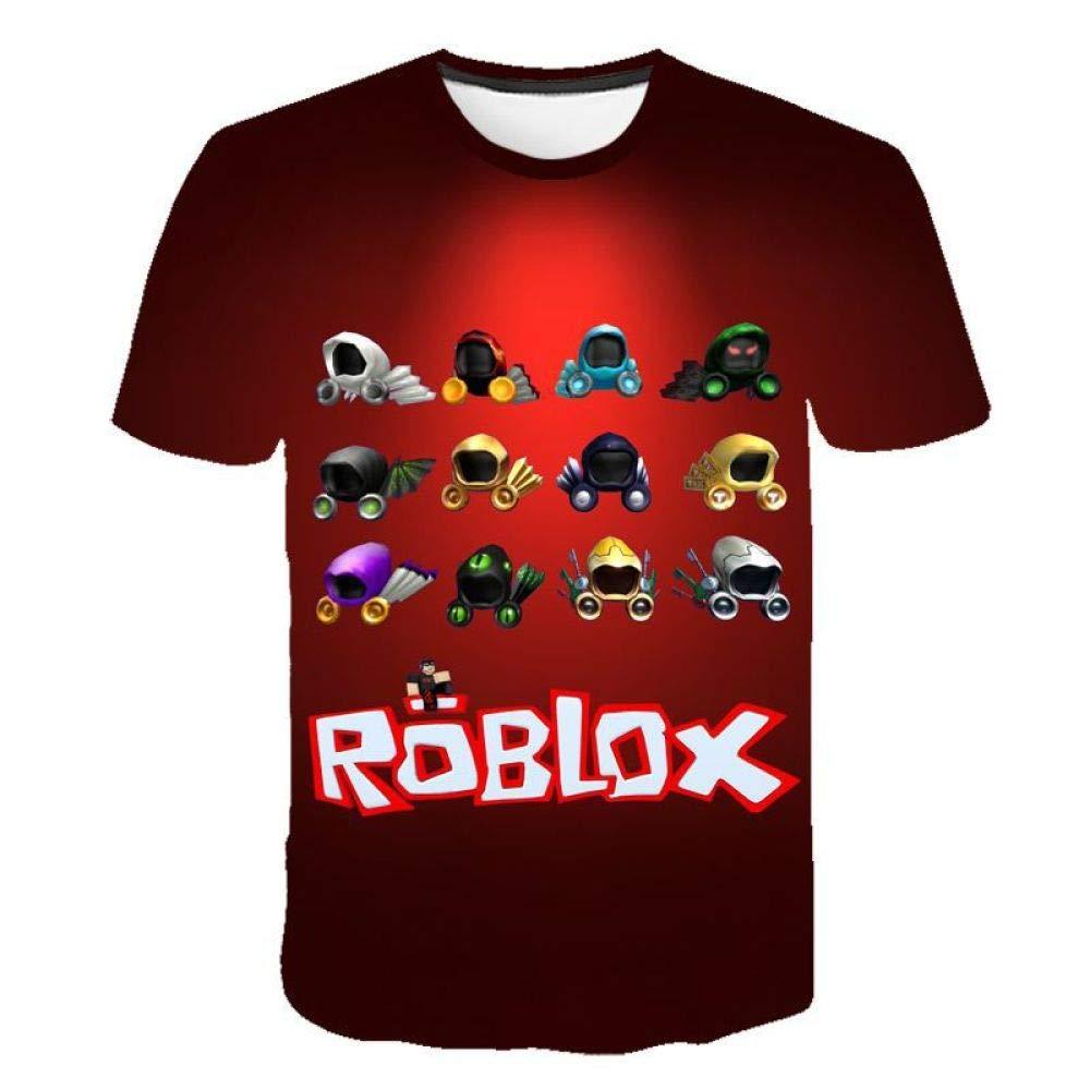 God Driver Camiseta Juego Niño Y Niña / / para Niños 3D Digital Impresión por Roblox Modelo Corto Manga Casual Parte Superior Pull-Over / A1 / Xl