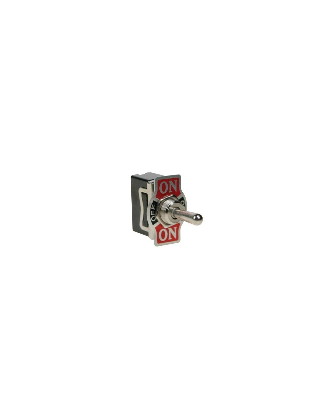 Perel 143201 SPDT Toggle Switch 1P, ON-OFF-ON, 10A/250V