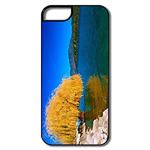 IPhone 5 5S Cases, Beautiful Willow White/black Cases For IPhone 5S by icecream design