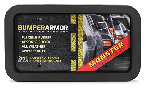 BumperArmor (Monster Edition) - Heavy Duty Front Bumper Guard. Biggest & Toughest Flexible Rubber Front Bumper Protector !