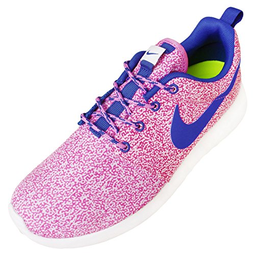 gris para Print Zapatillas color 38 5 talla 005 Nike 599432 mujer Blanco Run Roshe UZxqaYz