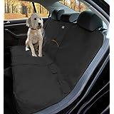 Kurgo Wander Dog Car Seat Cover, Black - Stain Resistant - Waterproof - Universal Fit