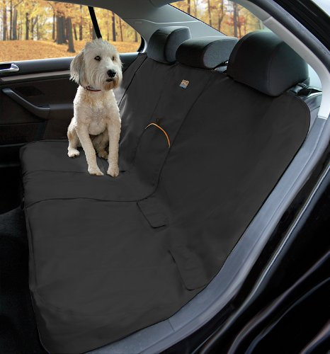 Resistant Seat (Kurgo Wander Dog Car Seat Cover, Black - Stain Resistant - Waterproof - Universal Fit)