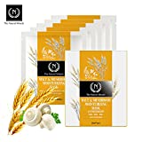 Cleansing Mushroom Tea - The Namir Facial Mask Experience with 25ml of Essence (Boxed - 5 Count - Namir Malt and Mushroom Moisturizing Mask)