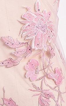BH003 3D Guipure-Spitze Tüll Breite 120 cm von 0,5 Meter Dusty Pink   Amazon.de  Küche   Haushalt 67f03ff4ef