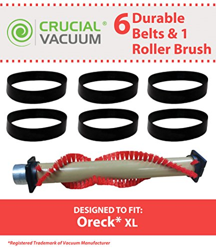 6 belts brush roll for oreck xl - 5