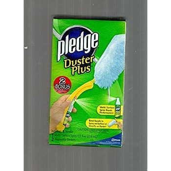 Amazon Com Pledge Duster Plus Kit Kit Includes One Handle