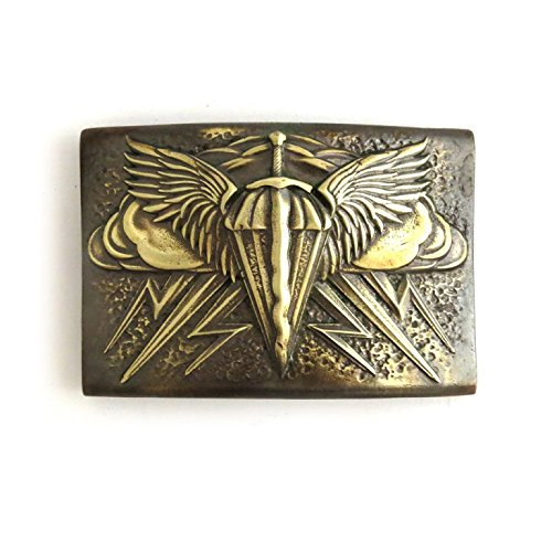Paratrooper Belt Buckle Heavens' Punishment