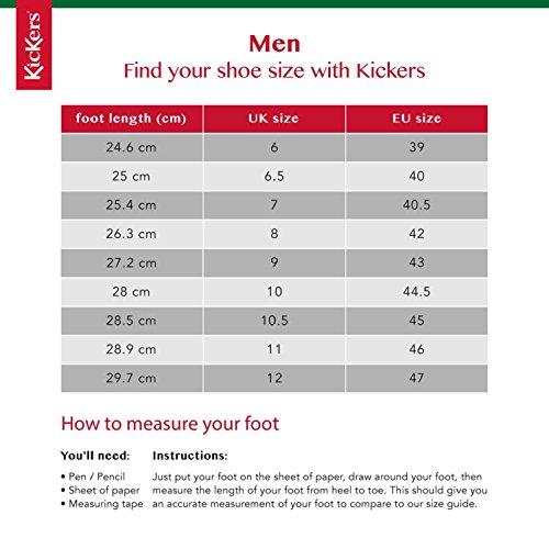 Mid Mid Mid Stivali Uomo Marrone Kickers Kickers Kickers Brown Chukka Classici Kymbo U8aBaq