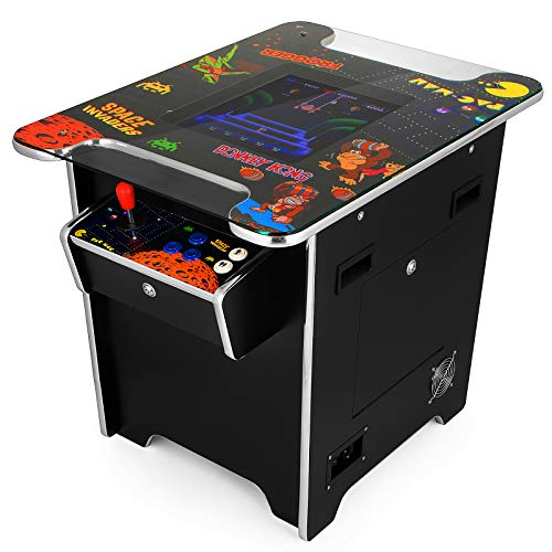 VEVOR Cocktail Arcade Game Machine with 60 Games 19 Inch Screen Classic Arcade Game Cabinet Home Commercial Settable Cocktail Table Retro Game by VEVOR (Image #2)